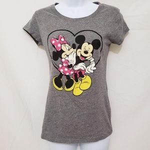 Disney Mickey and Minnie T Shirt S